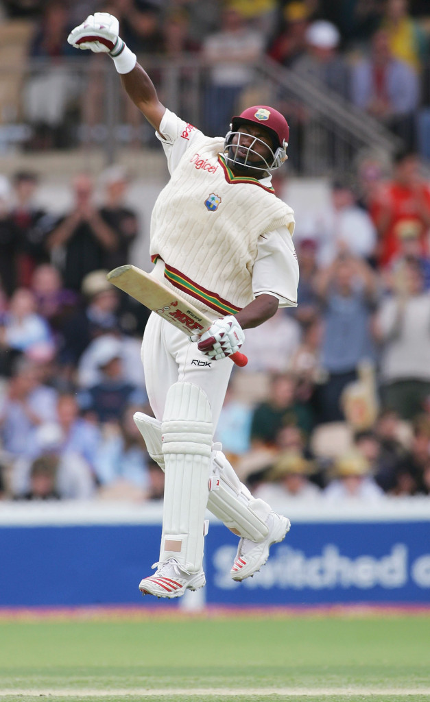 The man nicknamed 'The Prince of Port of Spain' averaged 52.88 in Test cricket (Photo by Hamish Blair/Getty Images)