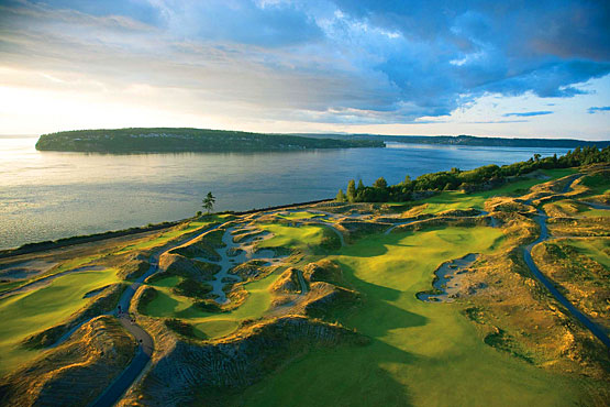 No walk in the park for fans at Chambers Bay