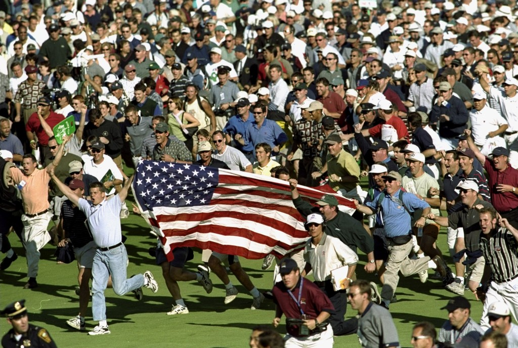 Whooping and hollering: American crowds were the bain of Colin Montgomerie