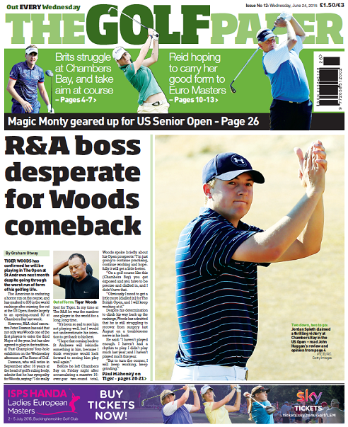 The Golf Paper - on sale NATIONWIDE