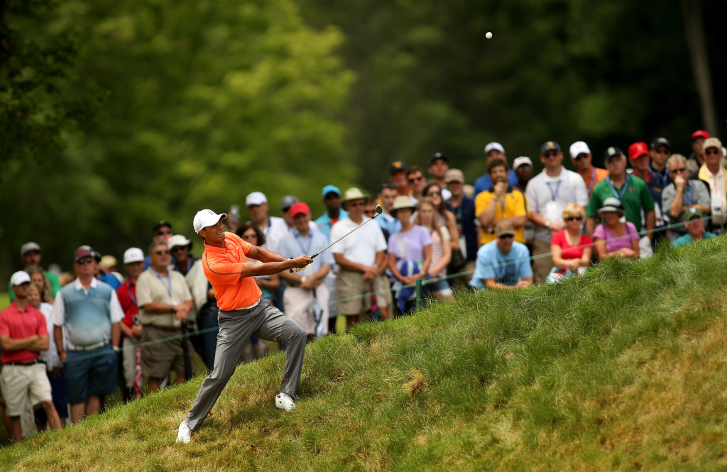 Woods found his touch at the Greenbrier Classic (Photo by Darren Carroll/Getty Images)