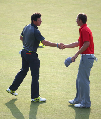 McIlroy hails rival Spieth's 'phenomenal' year