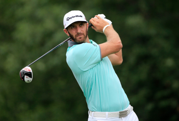 Johnson claims first round lead just as he did in US Open and The Open
