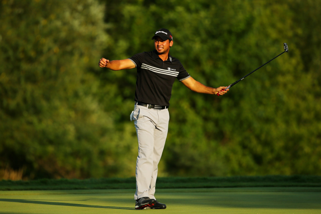 Deserved winner: Jason Day celebrates his maiden victory at a Major (Photo by Getty Images)