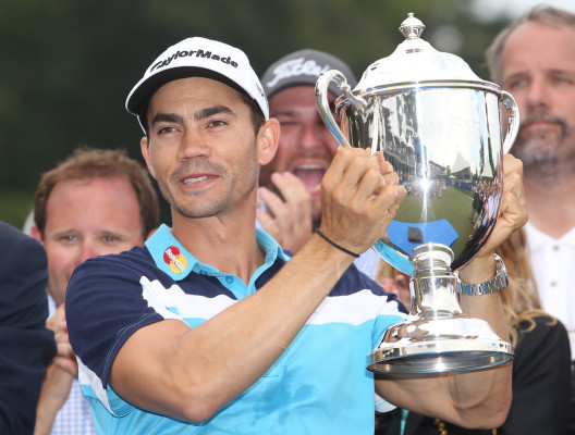 PGA Tour: Four-way tie for lead at The Barclays