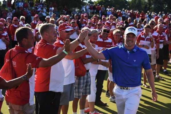 Horsey plays down Ryder Cup talk