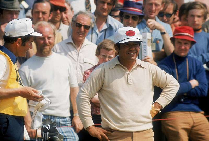 Chatterbox: Lee Trevino (photo by Getty Images)
