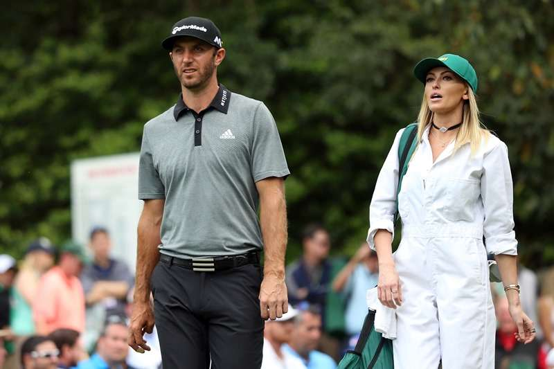 Happily settled: Dustin Johnson has credited Paulina Gretzky with helping him make his Major breakthrough (photo by Getty Images)
