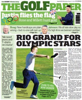 Inside this week's edition of The Golf Paper