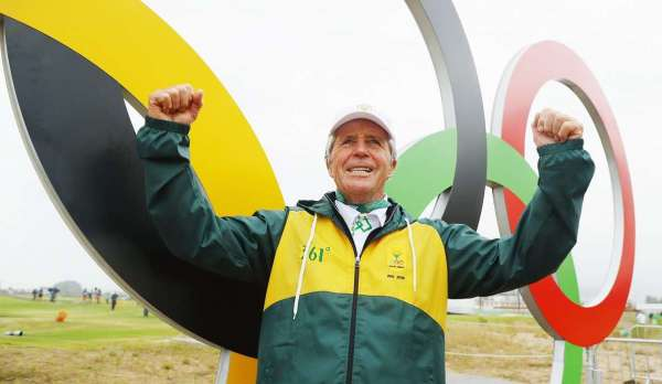 Player delighted with Olympic golf