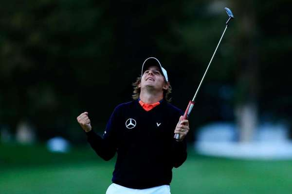 Grillo reunited with golf clubs after airport mix-up