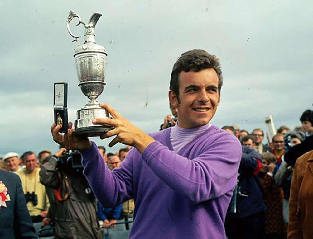 Changing times: Tony Jacklin earned 4,250 for winning The Open in 1970 (photo by Getty Images)