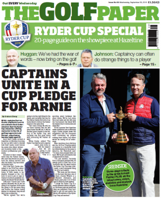 The Golf Paper – Ryder Cup special edition on sale now!