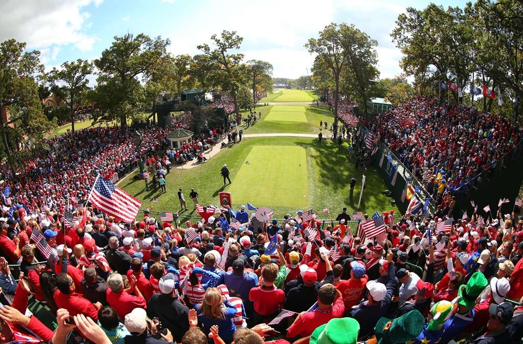 Pick up the pace: Players owe it to the sport to speed up the Ryder Cup in Hazeltine next week (photo by Mike Ehrmann / Getty Images)
