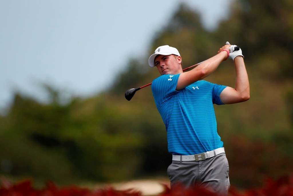 Making progress: Jordan Spieth insists he is ever-improving (Photo by Getty Images)