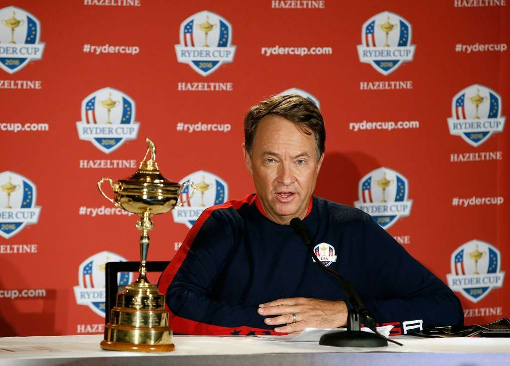 Decision time: Davis Love III must pick four more players to complete his 12-man US team (Photo by Getty Images)