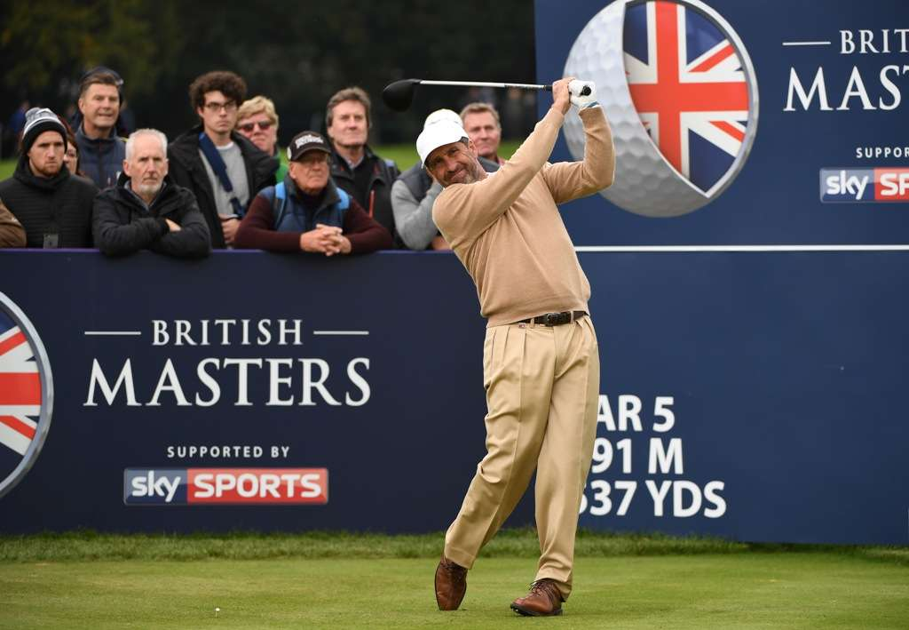 Glad to be back: Olazabal almost made the cut at the British Masters (Photo: Getty Images)