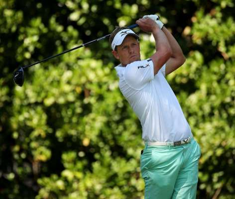 Mizuno enjoy great week as official supplier to the British Masters with ambassador Luke Donald